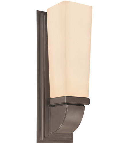 Sonneman Classico 1 Light Sconce in Rubbed Bronze 1921.24F photo