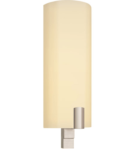Sonneman Lighting Cylindre 1 Light Sconce in Satin Nickel 1932.13F photo
