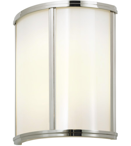 Sonneman 1990.35 Meridian 2 Light 10 inch Polished Nickel ADA Sconce Wall Light photo