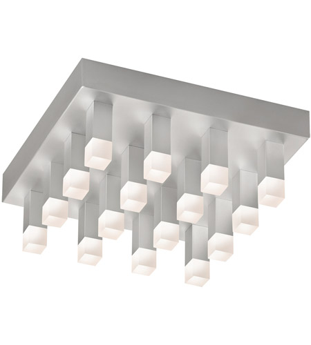 Sonneman 2122.16 Connetix LED 12 inch Bright Satin Aluminum Pendant Ceiling Light photo thumbnail