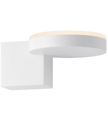 Sonneman Textured White Wall Sconces
