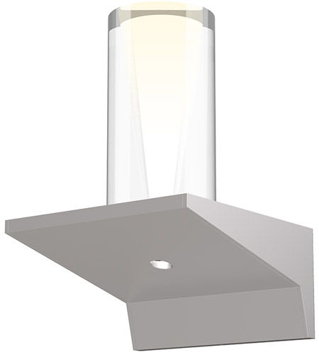 Sonneman 2850.16-SC Votives LED 4 inch Bright Satin Aluminum ADA Wall Sconce Wall Light photo thumbnail