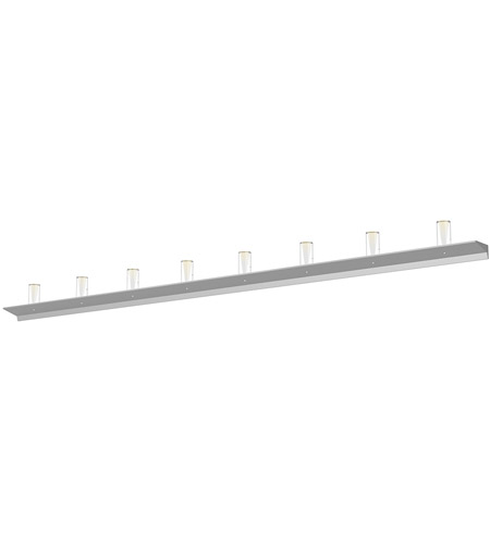 Sonneman 2855.16-SC Votives LED 96 inch Bright Satin Aluminum Wall Bar Wall Light photo thumbnail