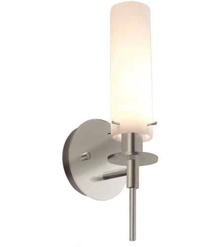 Sonneman Candle 1 Light Sconce in Satin Nickel 3031.13 photo