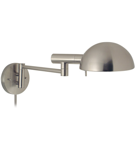 Sonneman Lighting E Dome 1 Light Wall Lamp in Satin Nickel 3042.13 photo