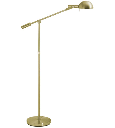 Sonneman Lighting E Dome 1 Light Floor Lamp in Satin Brass 3047.38 photo