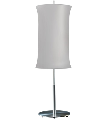 Sonneman 3131.10S Lightweights 33 inch 60 watt Satin Aluminum Table Lamp Portable Light photo