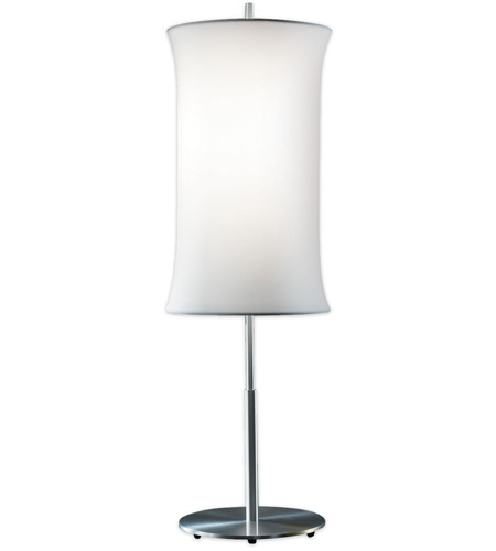 Sonneman Lightweights 2 Light Table Lamp in Satin Aluminum 3131.10W photo