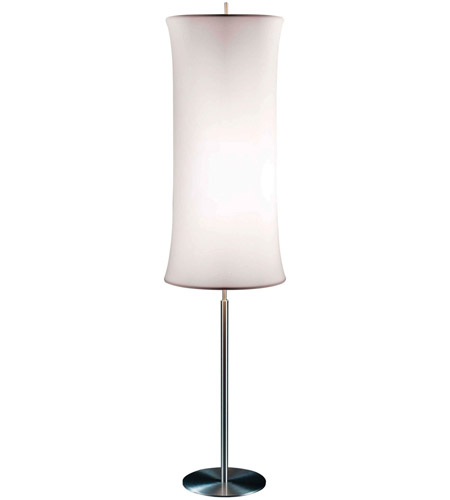 Sonneman Lightweights 2 Light Floor Lamp in Satin Aluminum 3134.10W photo