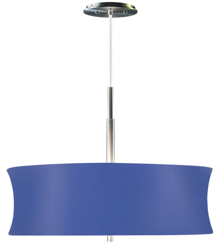 Sonneman Lightweights 2 Light Pendant in Satin Aluminum 3136.10B photo
