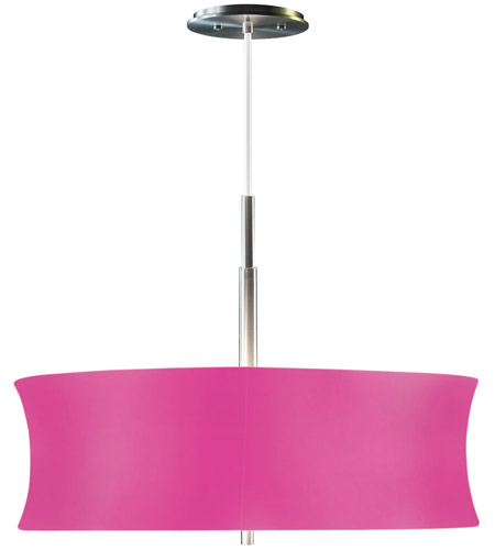 Sonneman Lightweights 2 Light Pendant in Satin Aluminum 3136.10F photo