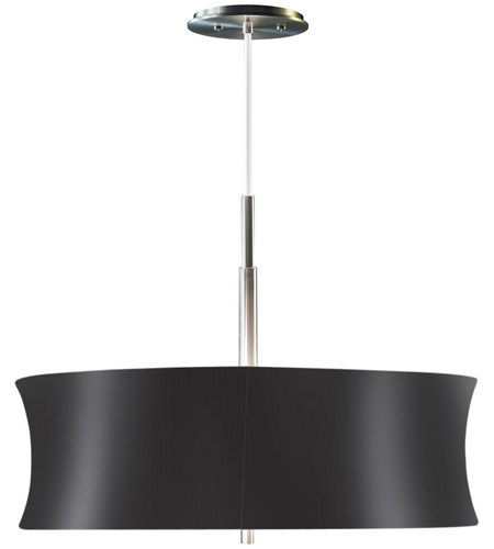 Sonneman Lightweights 2 Light Pendant in Satin Aluminum 3136.10K photo
