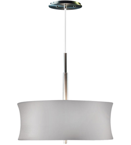 Sonneman Lightweights 2 Light Pendant in Satin Aluminum 3137.10S photo