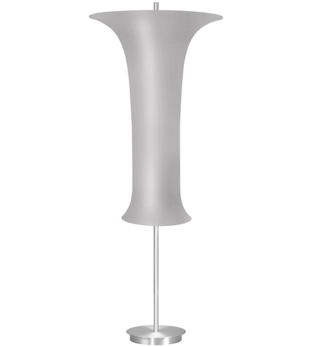 Sonneman 3146.10S Lightweights 58 inch 18 watt Satin Aluminum Floor Lamp Portable Light photo