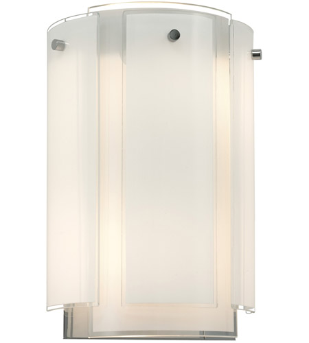 Sonneman 3180.01 Velo 2 Light 8 inch Polished Chrome Sconce Wall Light photo