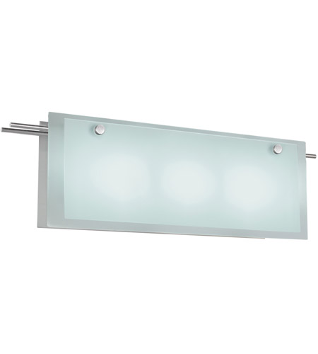 Sonneman Suspended 3 Light Bath Light in Satin Nickel 3205.13 photo