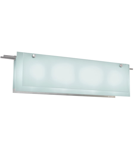 Sonneman Suspended 4 Light Bath Light in Satin Nickel 3206.13 photo