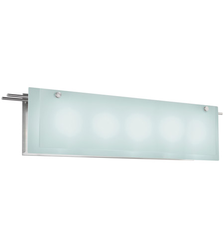 Sonneman 3207.13 Suspended 5 Light 30 inch Satin Nickel Bath Light Wall Light photo