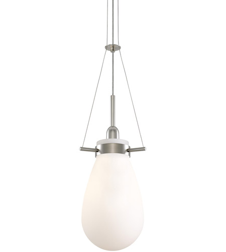 Sonneman Lighting Palazzo 1 Light Pendant in Satin Nickel 3292.13W photo