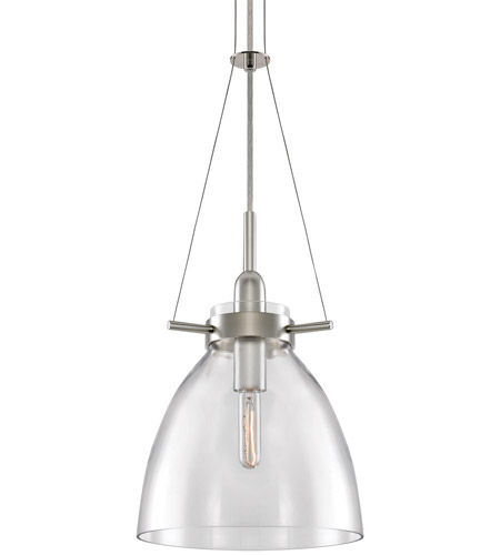 Sonneman Castelli 1 Light Pendant in Satin Nickel 3294.13C photo