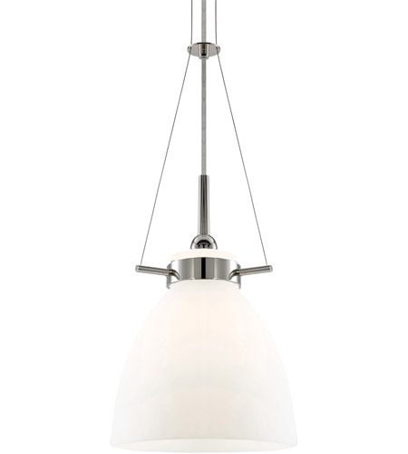 Sonneman Lighting Castelli 1 Light Pendant in Polished Nickel 3294.35W photo