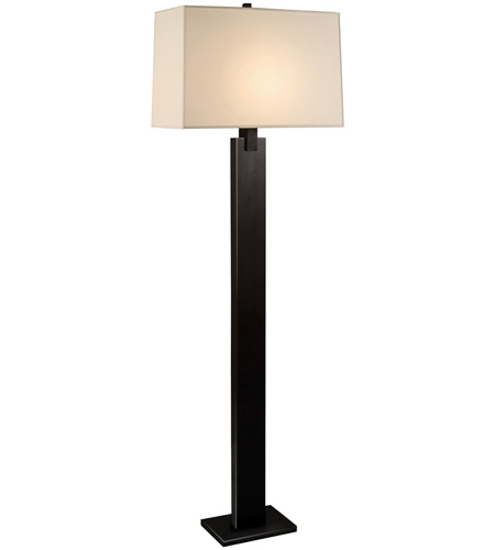 Sonneman 3306.51 Monolith 63 inch 150 watt Black Brass Floor Lamp Portable Light photo