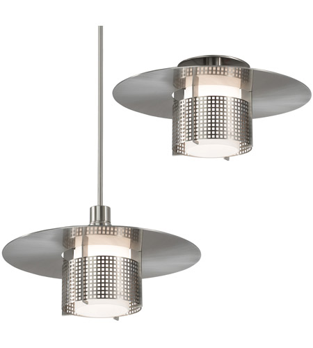 Sonneman 3433.13M Pool 1 Light Satin Nickel Pendant Ceiling Light photo