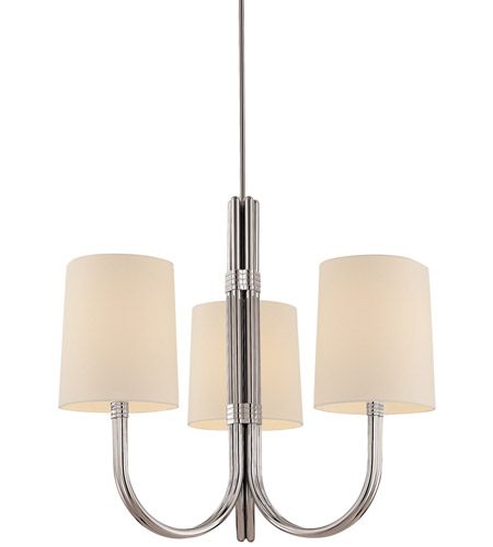 Sonneman Lighting Dorian 3 Light Pendant in Polished Nickel 3643.35 photo