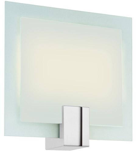 Sonneman Dakota 2 Light Sconce in Polished Chrome 3682.01F photo