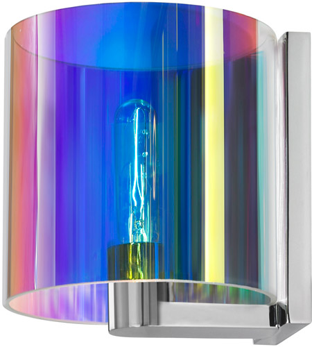 Sonneman Delano 1 Light Sconce in Polished Chrome 3690.01D photo