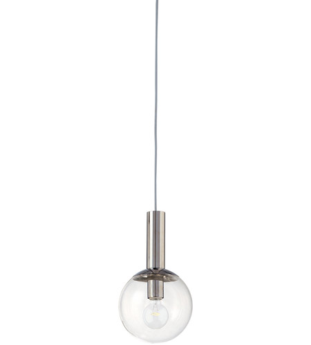 Sonneman 3760.35 Bubbles 1 Light 8 inch Polished Nickel Pendant Ceiling Light photo