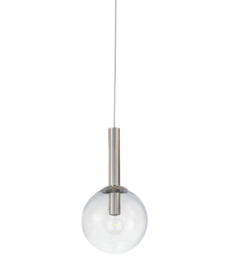 Sonneman 3761.35 Bubbles 1 Light 10 inch Polished Nickel Pendant Ceiling Light photo