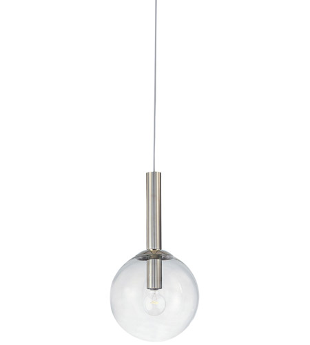 Sonneman Bubbles 1 Light Pendant in Polished Nickel 3762.35 photo