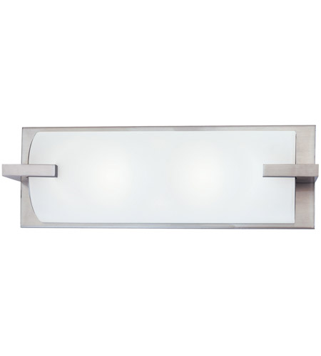 Sonneman Edge 2 Light Bath Light in Satin Nickel 3793.13 photo