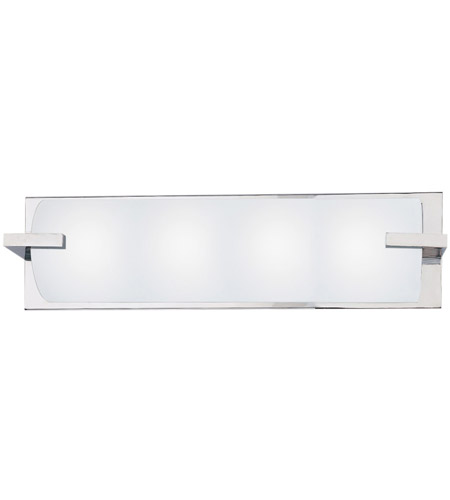 Sonneman 3794.01 Edge 4 Light 22 inch Polished Chrome Bath Light Wall Light in 22 in. photo