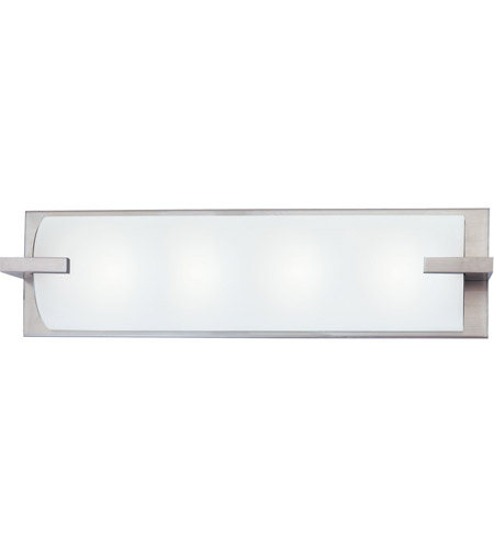 Sonneman 3794.13 Edge 4 Light 22 inch Satin Nickel Bath Light Wall Light in 22 in. photo