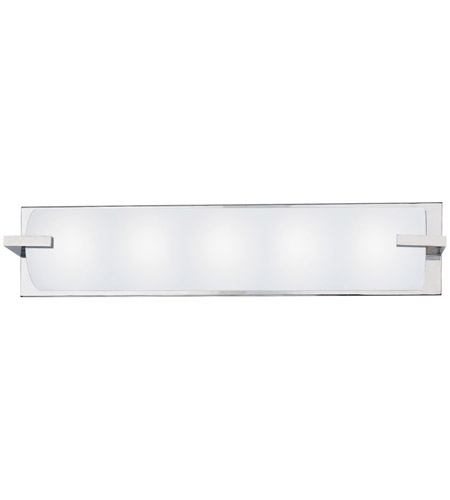 Sonneman 3795.01 Edge 4 Light 30 inch Polished Chrome Bath Light Wall Light in 30 in. photo