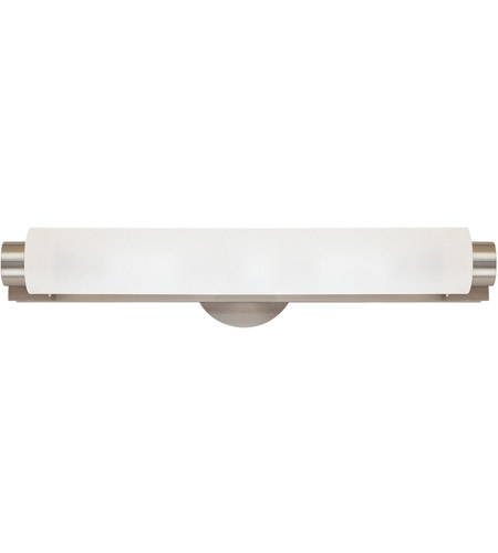 Sonneman Tubo 4 Light Bath Light in Satin Nickel 3830.13 photo