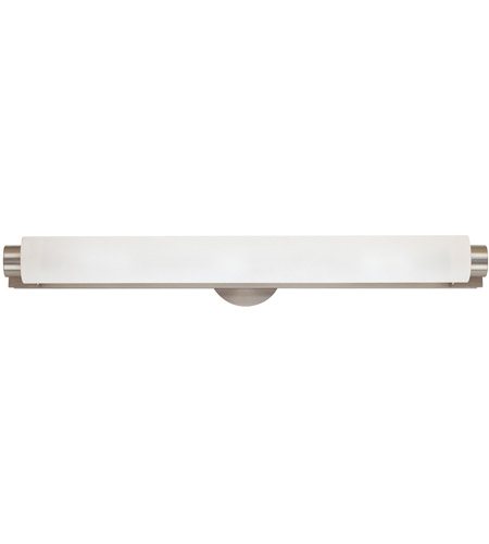 Sonneman Tubo 5 Light Bath Light in Satin Nickel 3834.13 photo