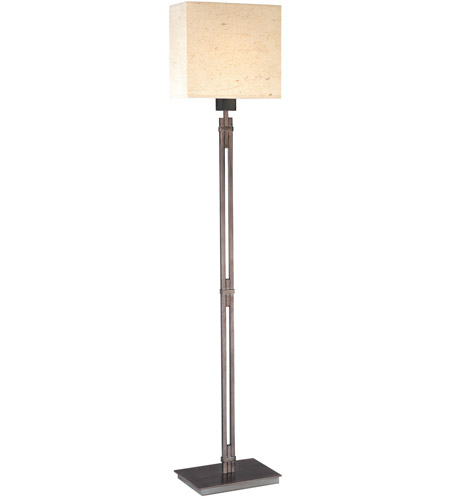 Sonneman Nikko 1 Light Floor Lamp in Blackened Steel 4076.28 photo