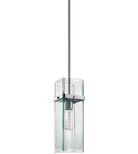 Sonneman 4281.01 Mercer 1 Light 6 inch Polished Chrome Pendant Ceiling Light photo