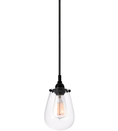 Sonneman 4291.25 Chelsea 1 Light 5 inch Satin Black Pendant Ceiling Light photo