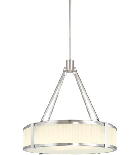 Sonneman Roxy 4 Light Pendant in Satin Nickel 4353.13 photo