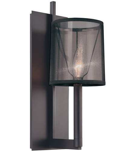 Sonneman Lighting Silhouette 1 Light Sconce in Satin Black 4481.25 photo