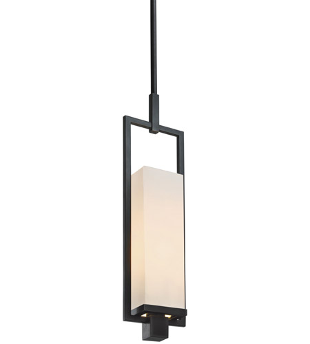 Sonneman 4491.51F Metro 1 Light 4 inch Black Brass Pendant Ceiling Light photo