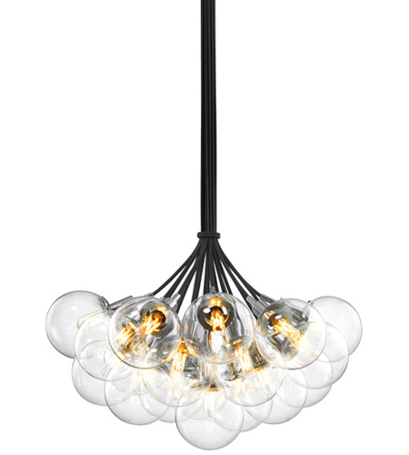 Sonneman Orb 19 Light Pendant in Polished Chrome 4594.01C photo