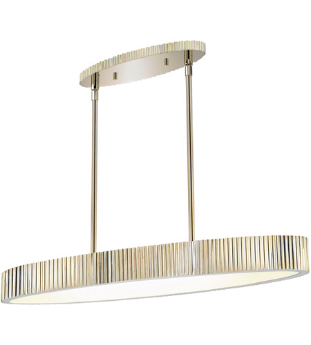 Sonneman 4624.35 Paramount 6 Light 36 inch Polished Nickel Pendant Ceiling Light photo