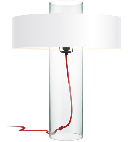 Sonneman 4755 87w Level 24 Inch 60 Watt Clear Glass Table Lamp