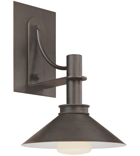 Sonneman 4903.31 Bridge 1 Light 10 inch Textured Rustic Bronze Sconce Wall Light photo