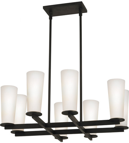 Sonneman High Line 8 Light Pendant in Black Bronze 4928.32 photo